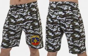 Контрастные камуфляжные шорты с нашивкой РВСН - заказать в Военпро