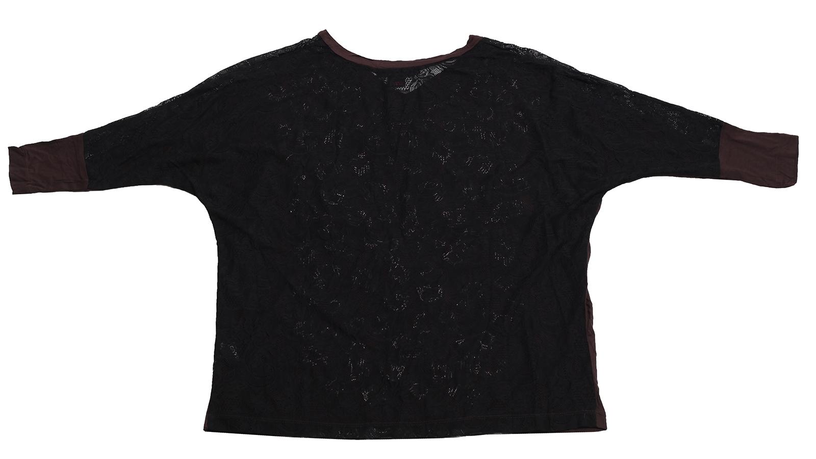 Купить коричневую нарядную кофточку от бренда Rock&Roll CowGirl с ажурной спиной по оптимальной цене