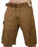 Коричневые шорты для мужчин (Iron Co., США)