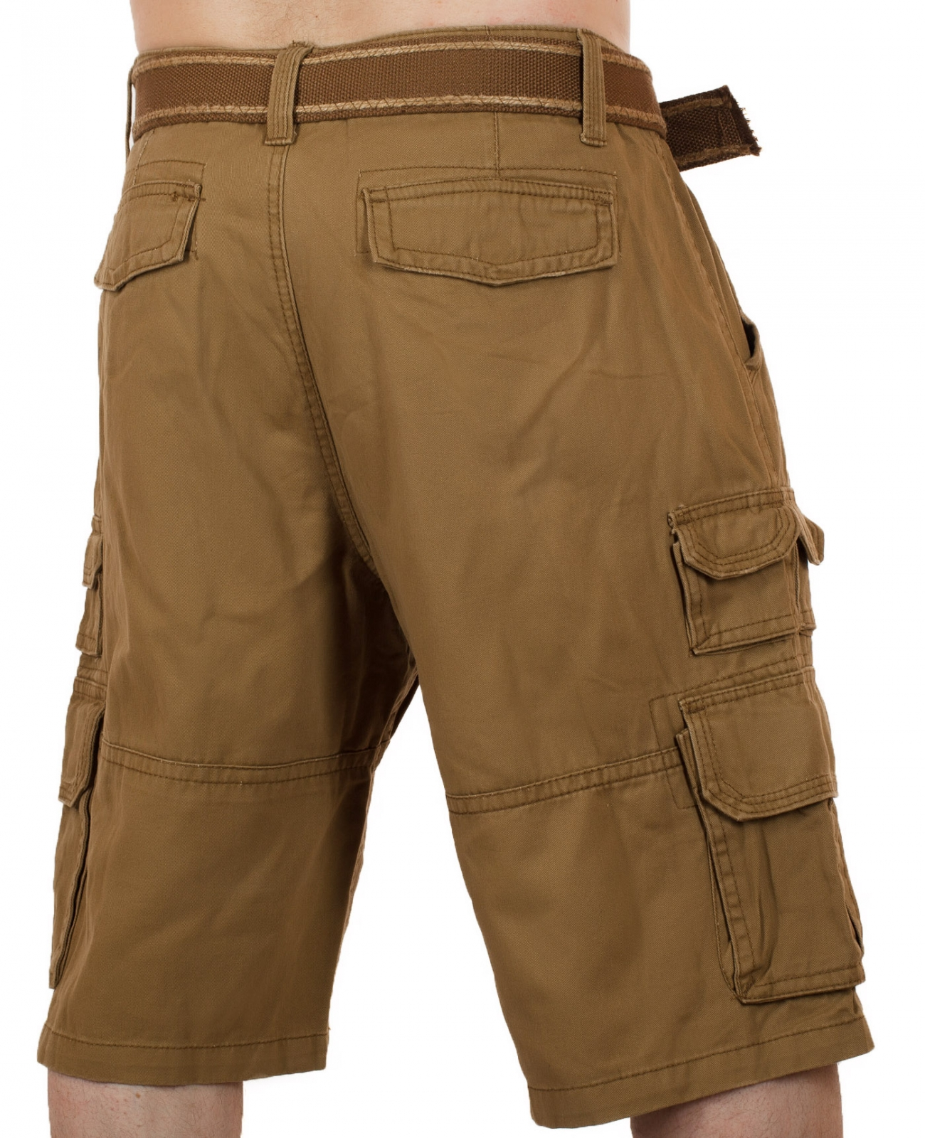 Заказать коричневые шорты для мужчин (Iron Co., США)