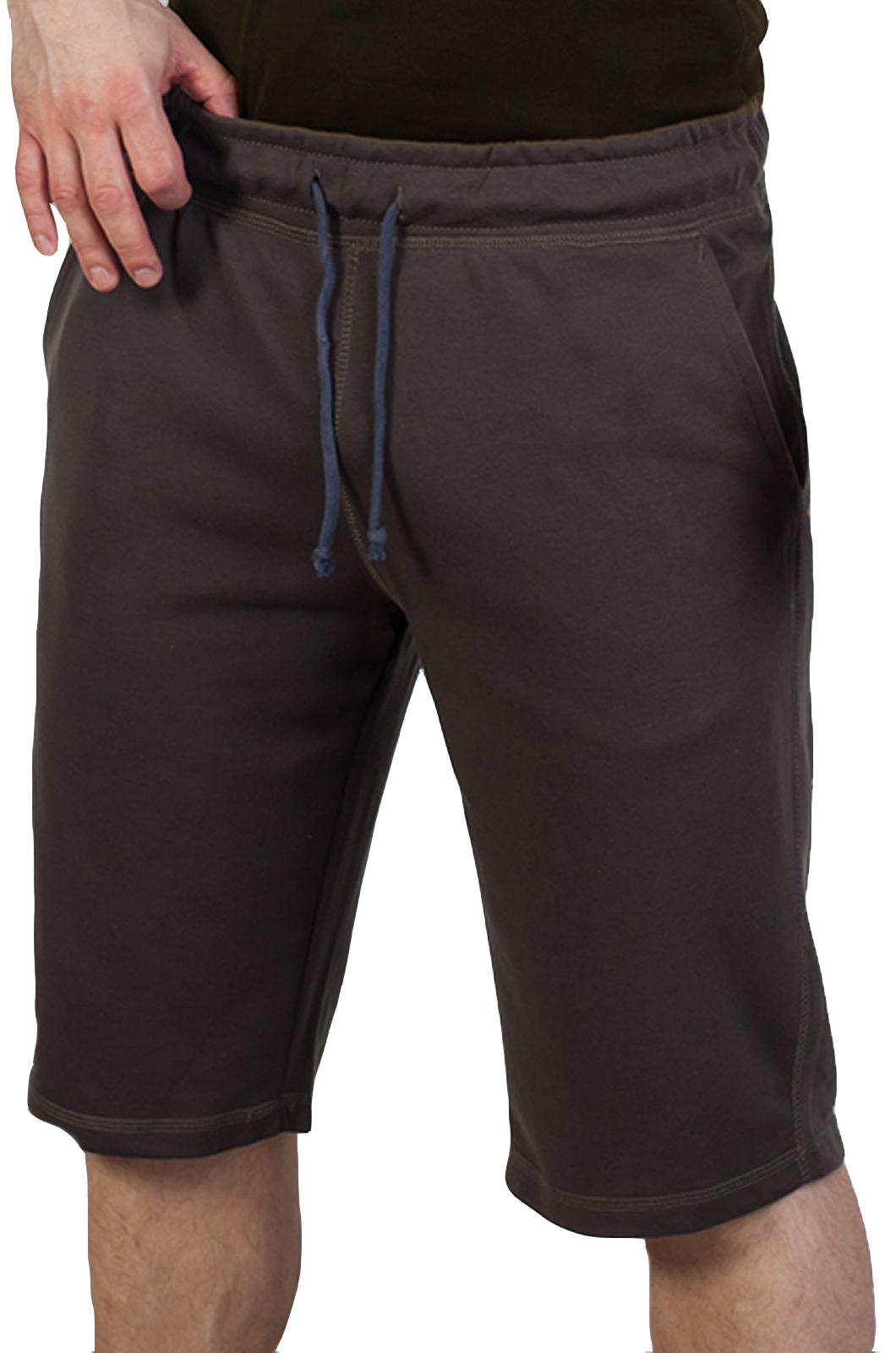 Коричневые шорты мужские от производителя French Onion