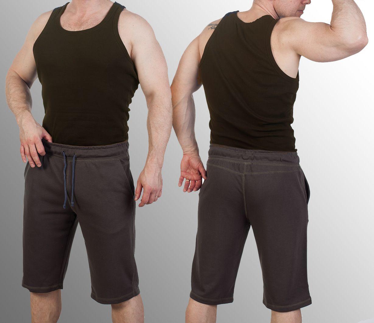 Заказать коричневые шорты мужские