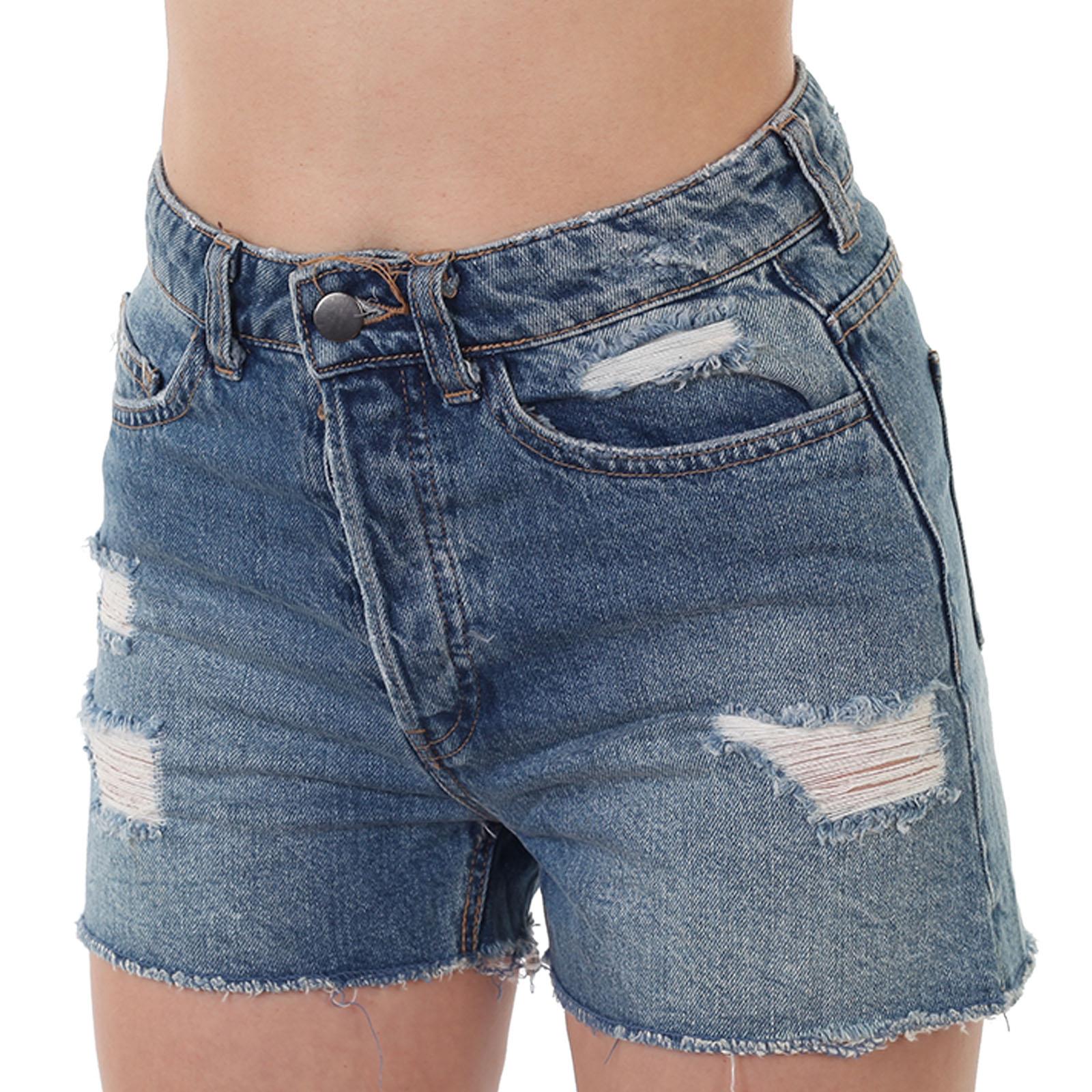 Купить в интернет магазине женские джинсовые шортики