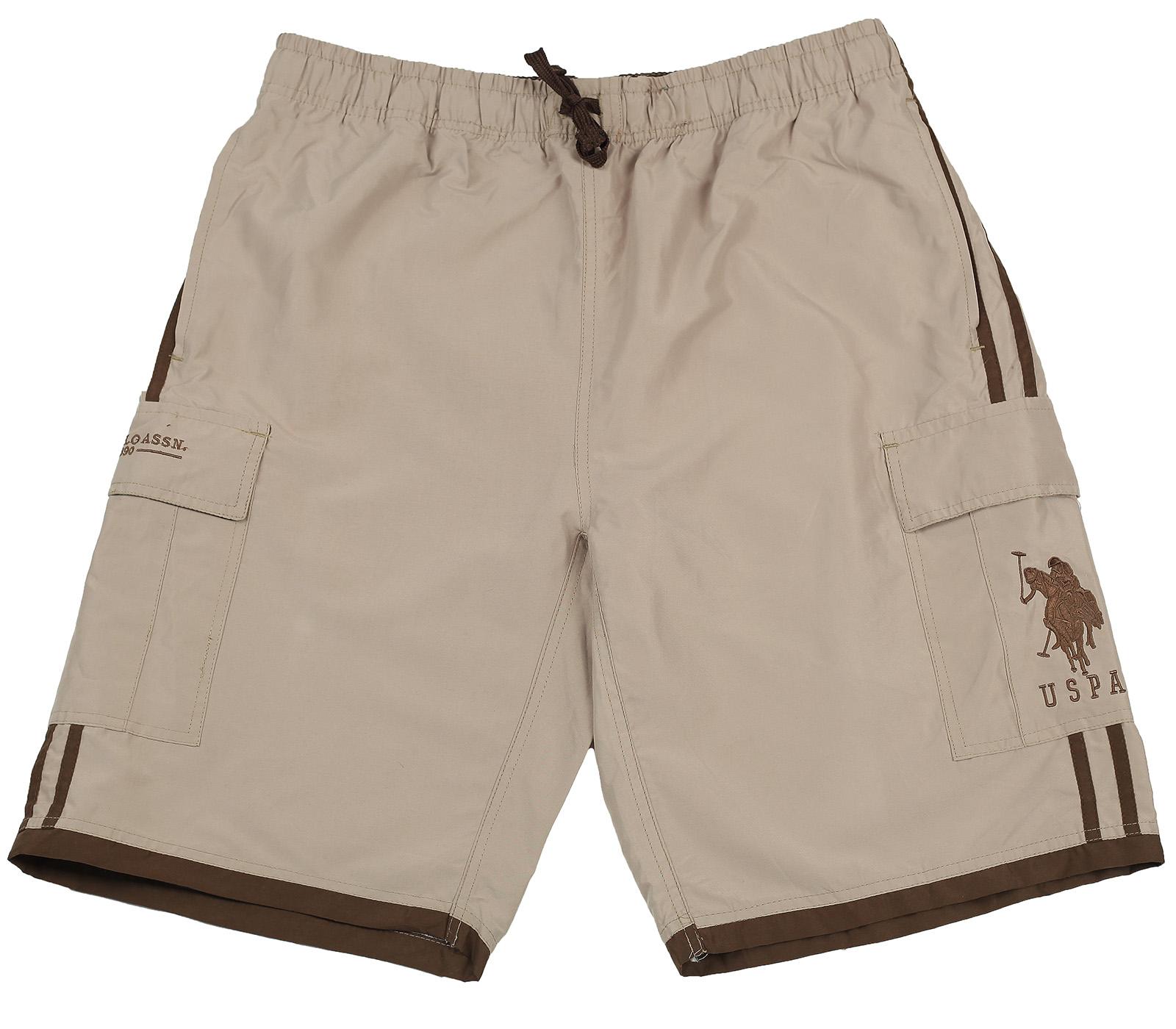 Бежевые мужские шорты