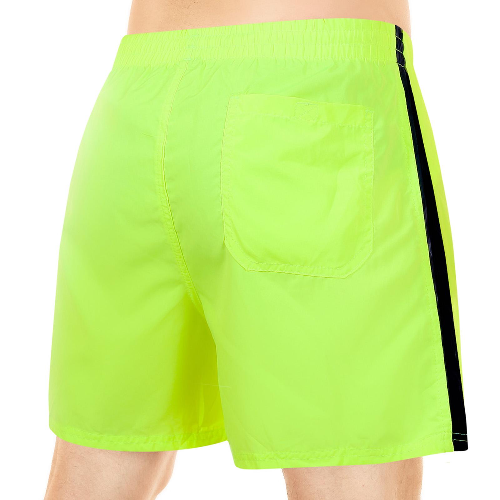 Короткие мужские шорты ярко-лимонного цвета от MACE (Канада) по низкой цене