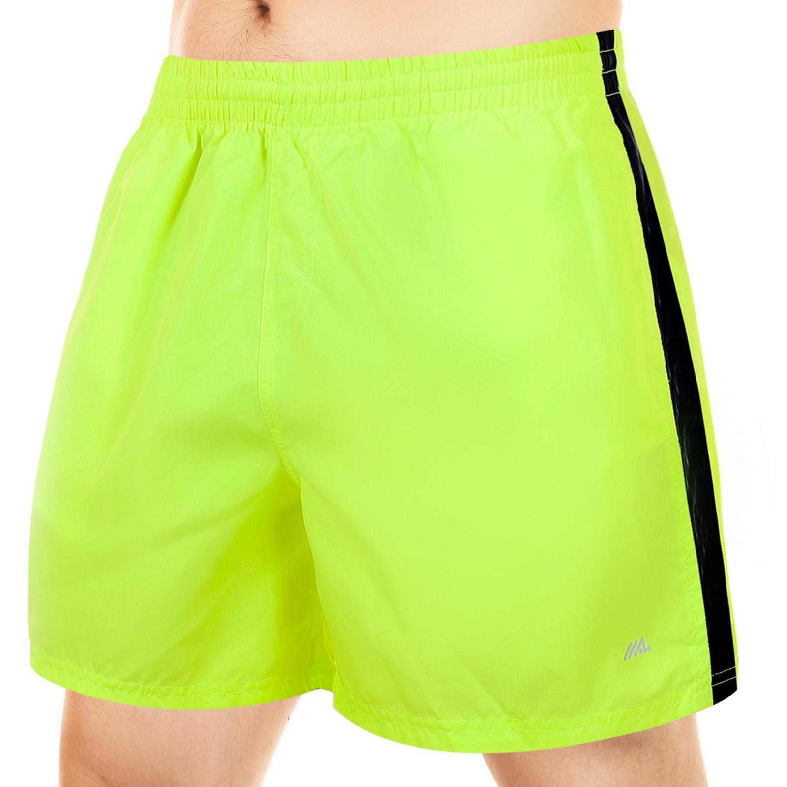 Короткие мужские шорты ярко-лимонного цвета от MACE (Канада)