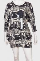 Короткое платье бренда ZB