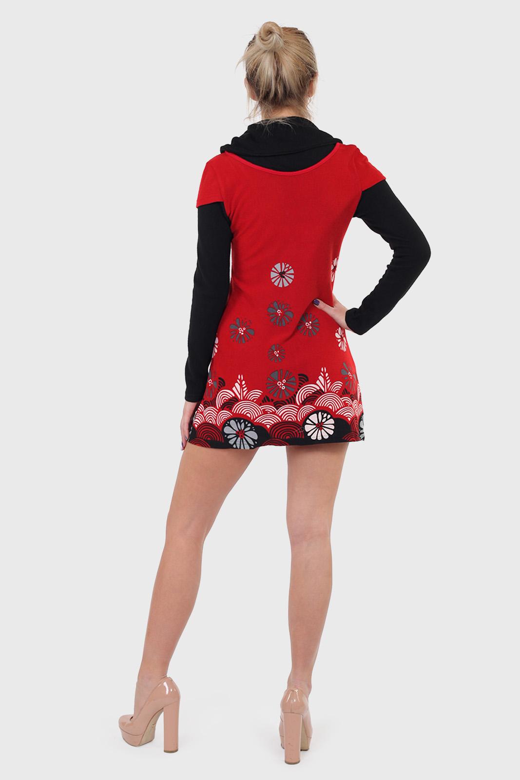 Короткое платье Le Grenier с длинными рукавами.