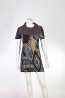 Короткое платье с кокеткой от бренда Z ʆ L