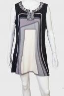 Короткое платье-трапеция Adocgatti.