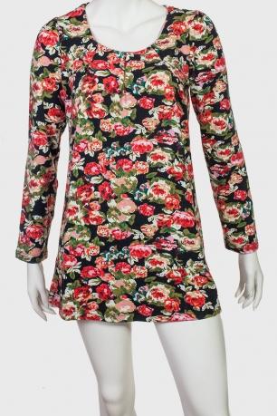 Короткое платье-туника Genevan
