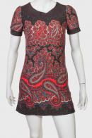 Короткое платье в стиле ФОЛК!