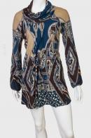 Короткое трикотажное платье Adore.