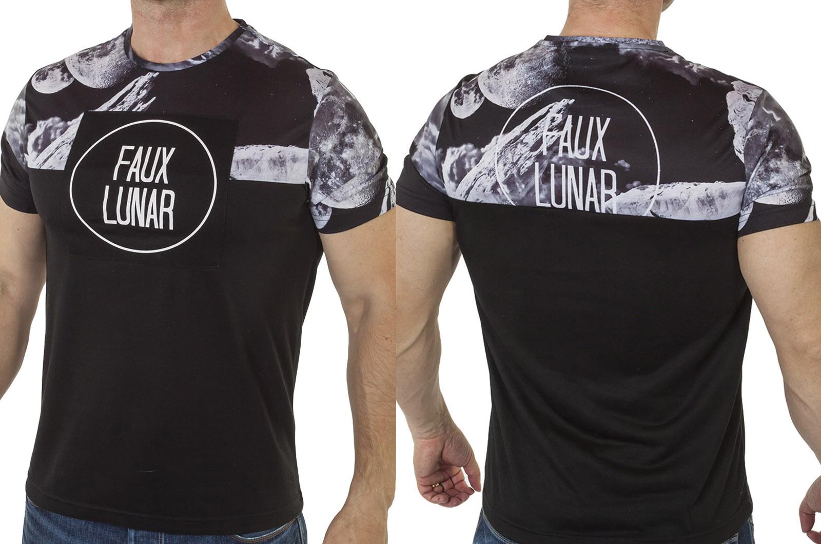 Космическая мужская футболка Max Young Men с доставкой