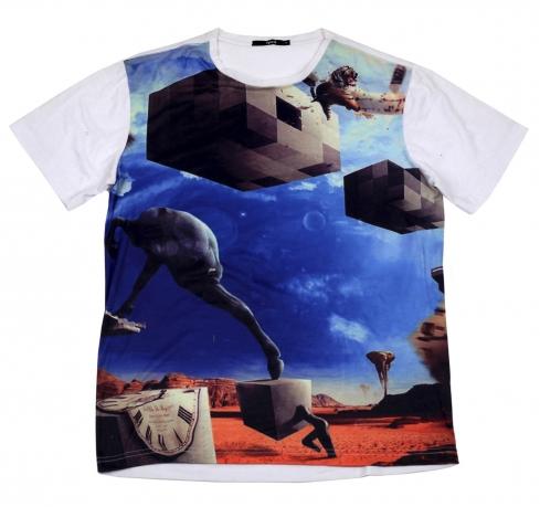 Космическая футболка Splash - качество и мода 2 в 1