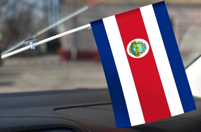 Костариканский флажок в машину