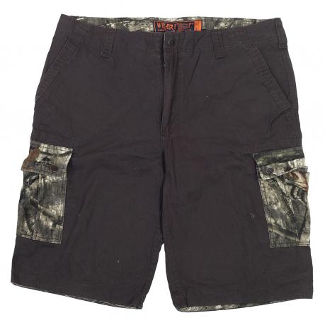 Мужские котоновые шорты Wear First с камуфляжными карманами Realtree.