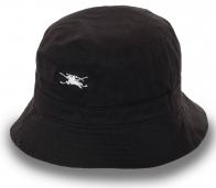 Коттоновая панама черного цвета. Удобная форма, качественный пошив