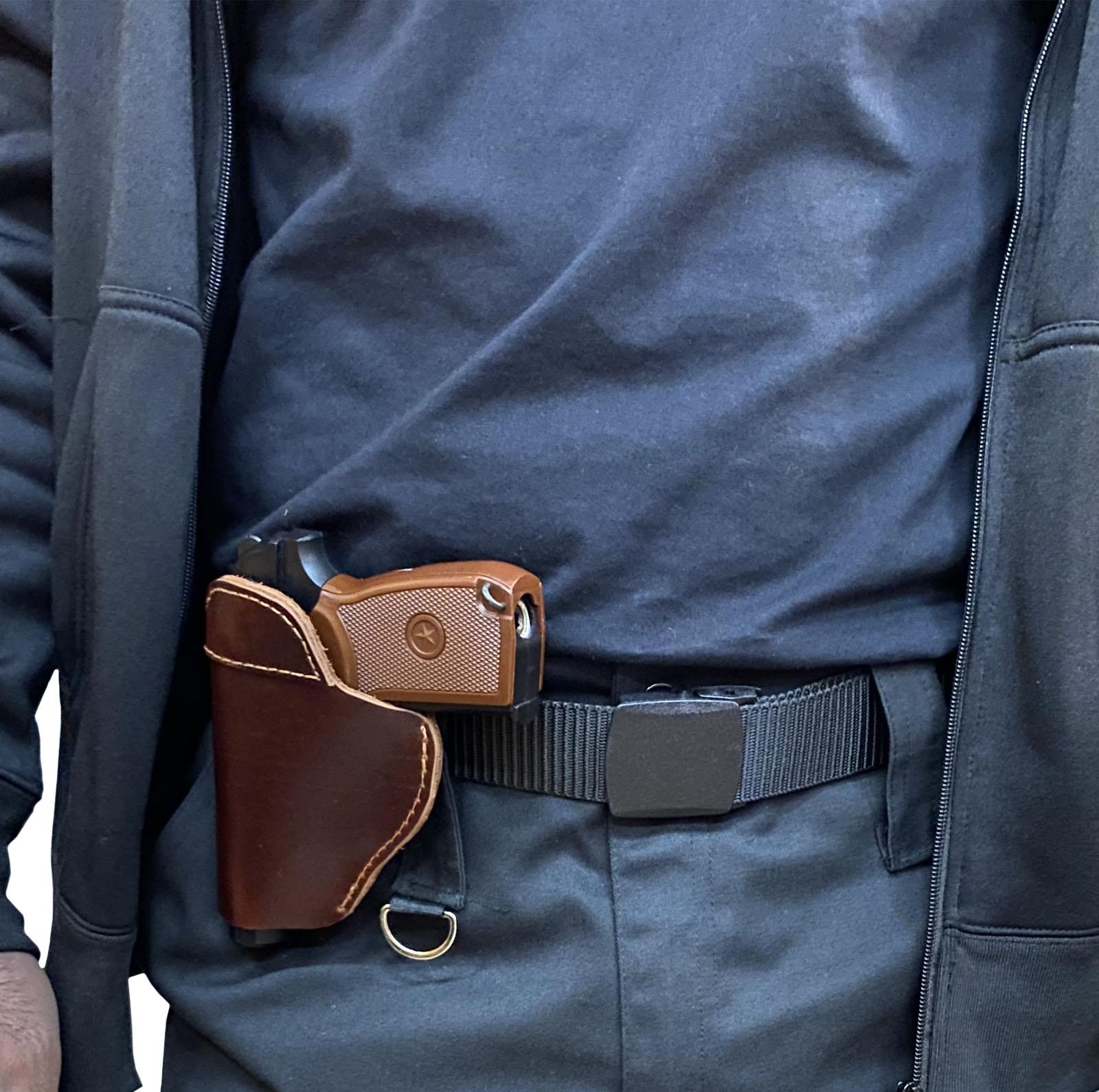 Кожаная кобура для пистолета Kosibate Leather Holster