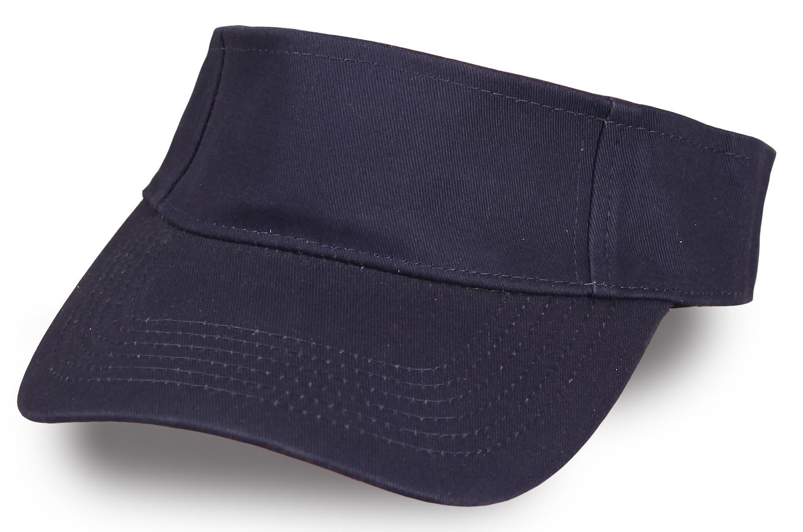 Козырек темно-синий - купить в интернет-магазине с доставкой