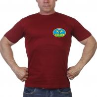 Краповая мужская футболка Десант