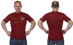 Краповая мужская футболка Победа