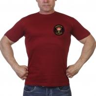 Краповая мужская футболка 3 гв. ОБрСпН ГРУ