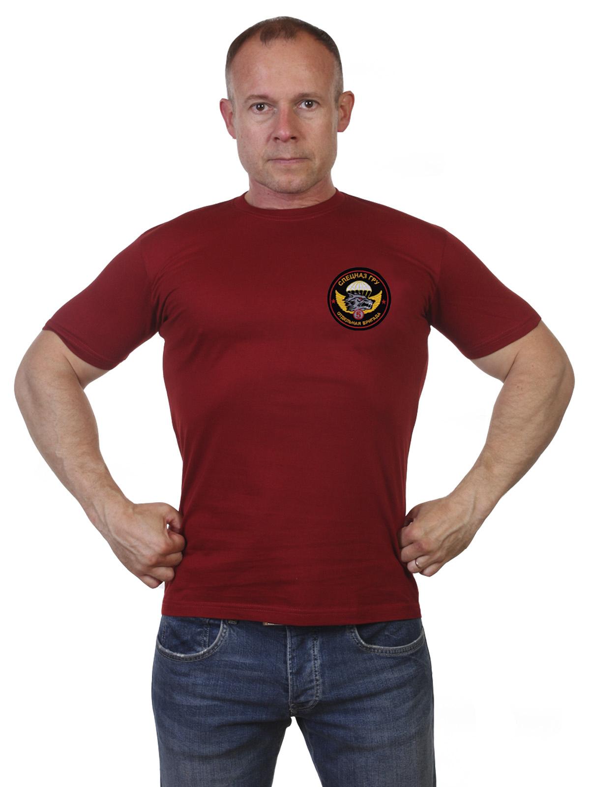 Купить футболку 5 ОбрСпН ГРУ