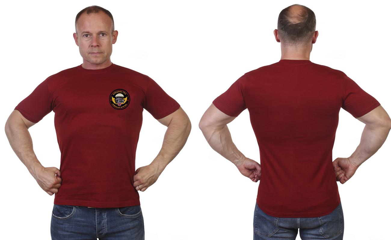 Краповая мужская футболка 5-ой бригады Спецназа ГРУ