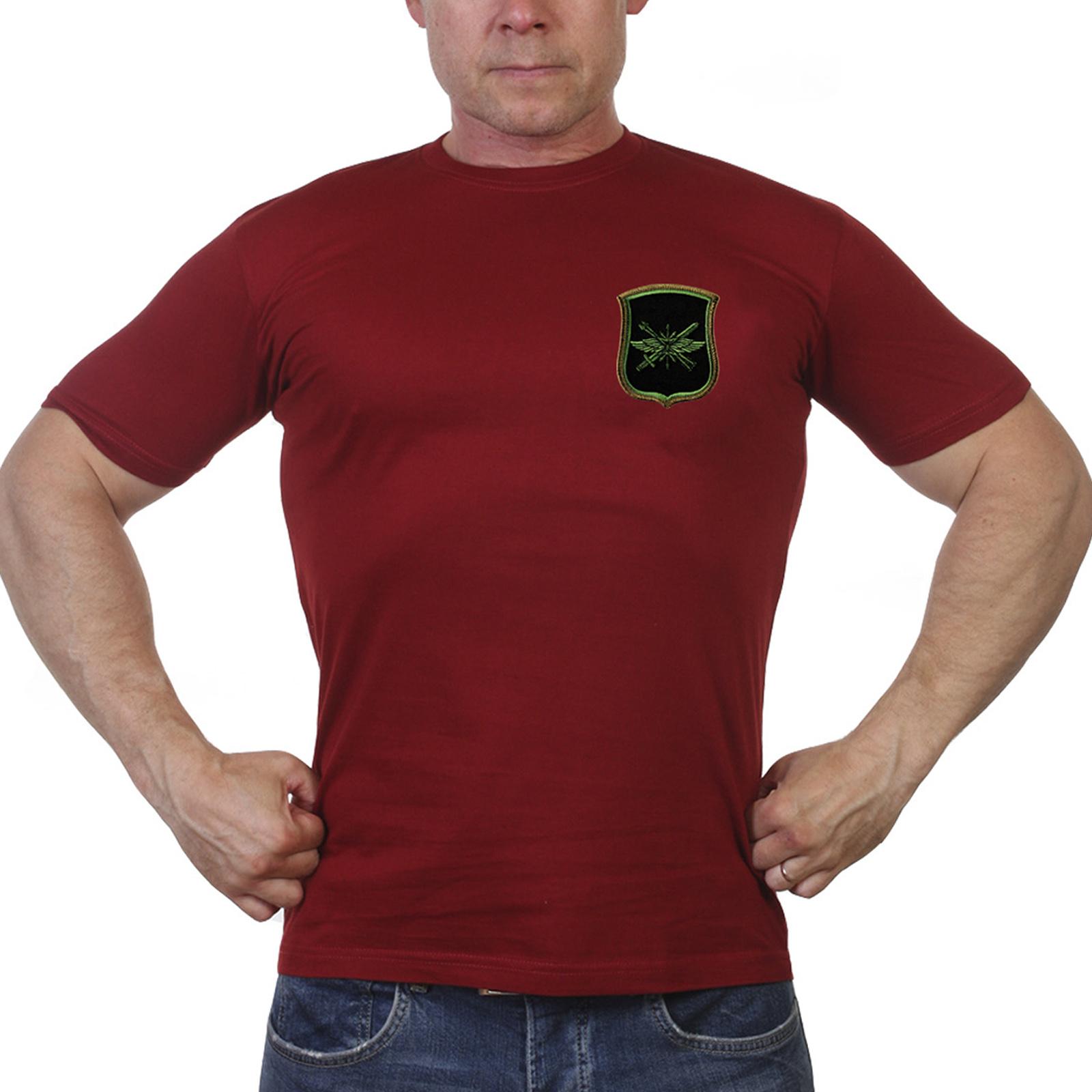 Краповая футболка 882 ЦУС РВСН