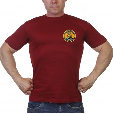 Краповая мужская футболка Baltic Bees