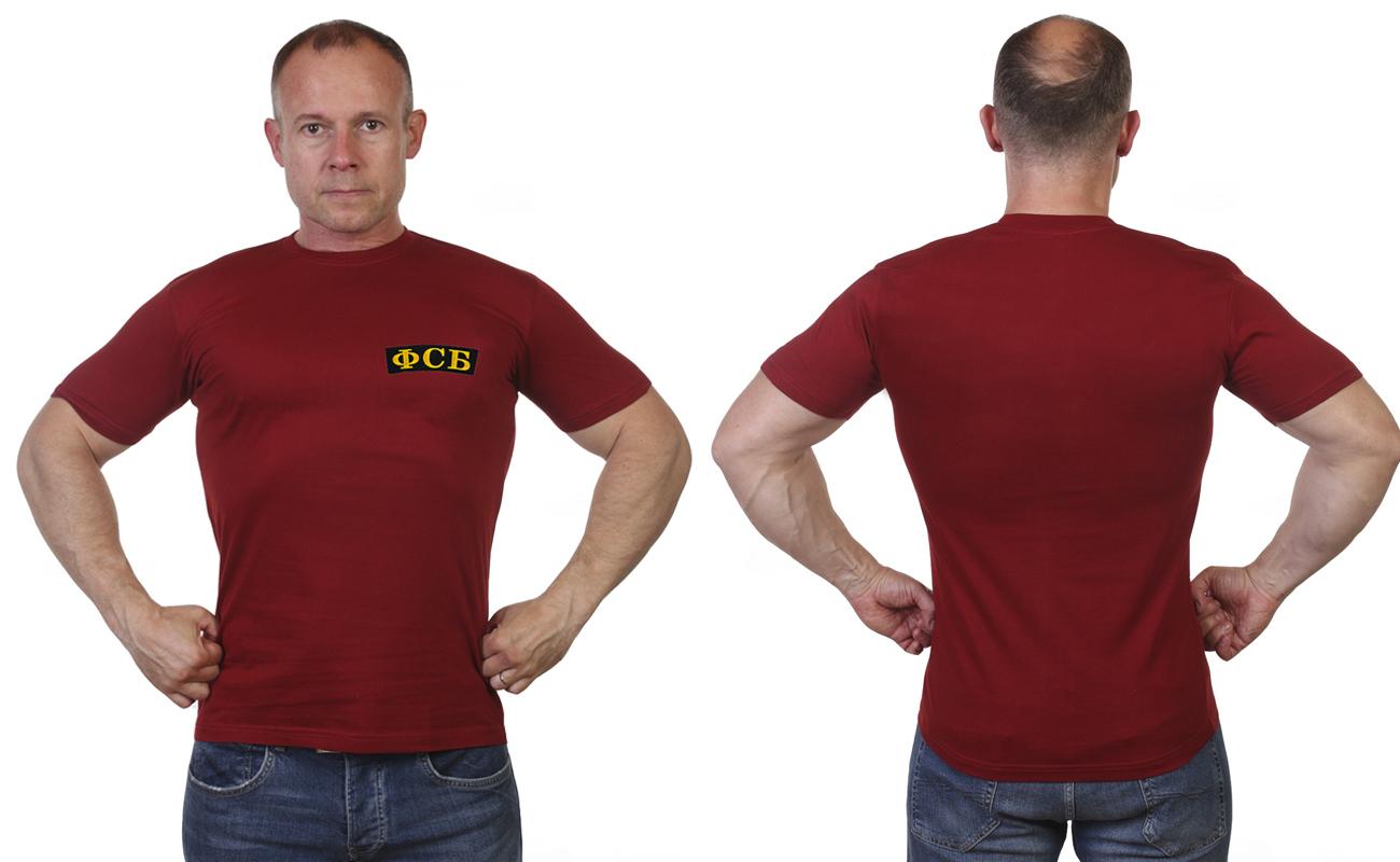 Краповая футболка ФСБ