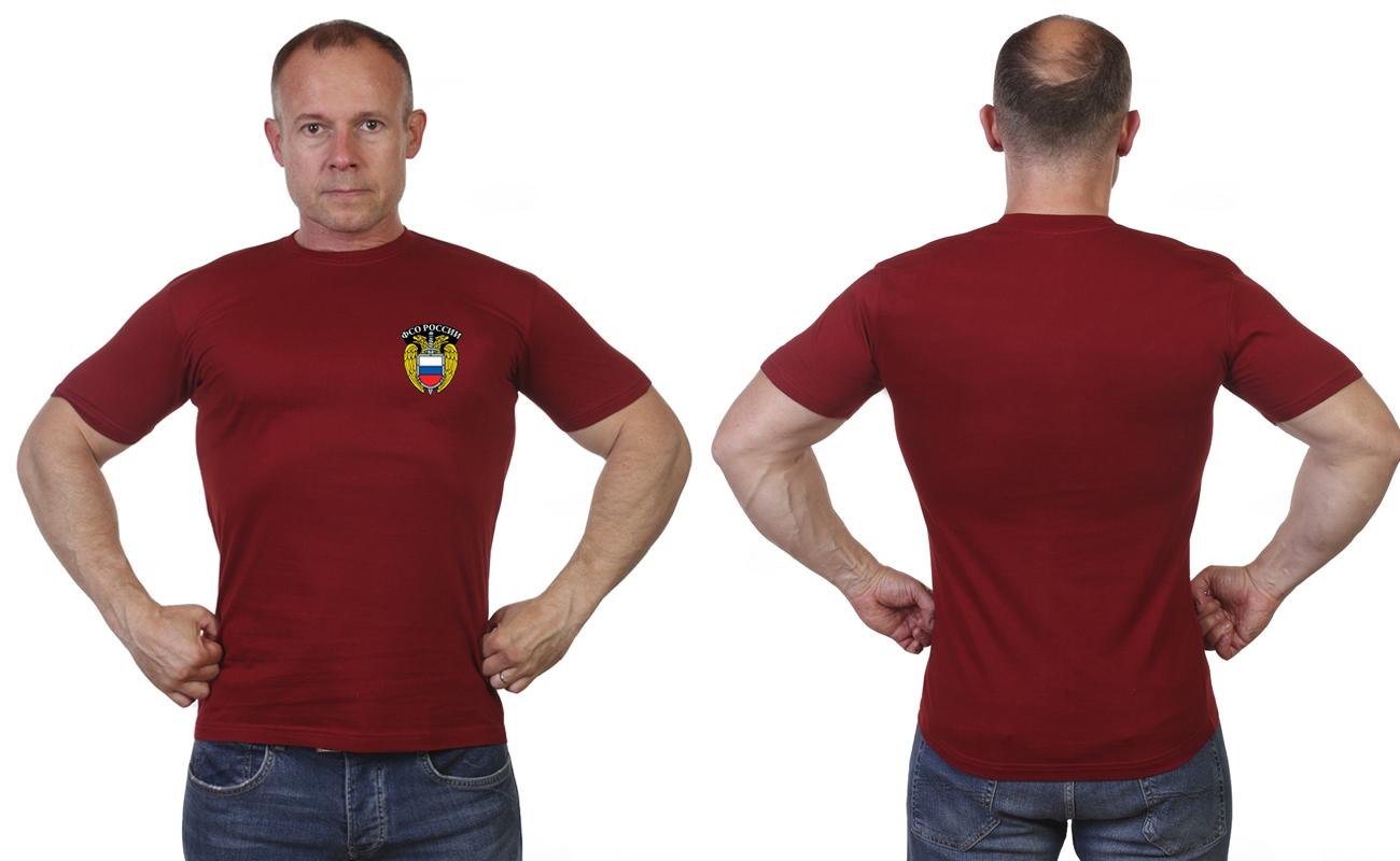 Краповая футболка ФСО