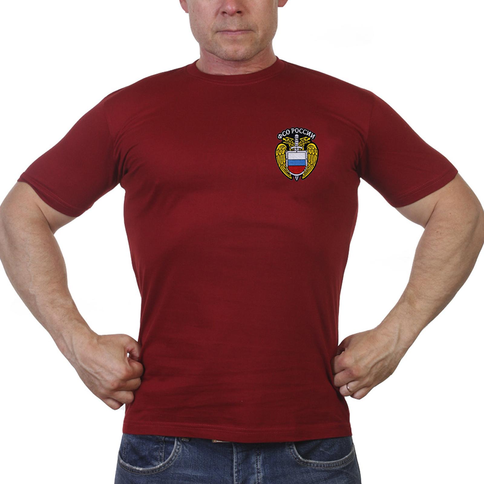 """Краповая футболка """"ФСО России"""""""