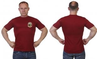 """Краповая футболка """"Лучший охотник"""""""