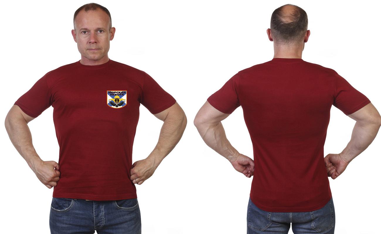 Краповая футболка мореха