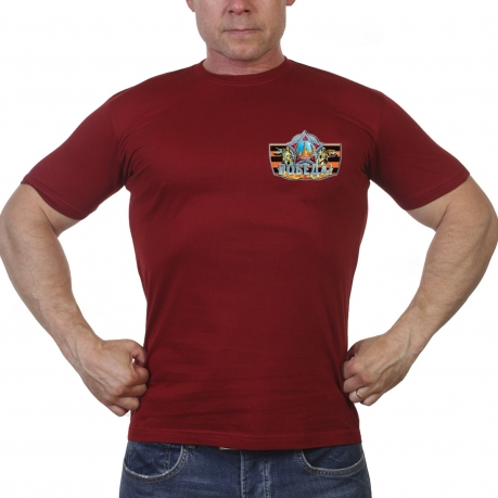 Краповая футболка Наша Победа