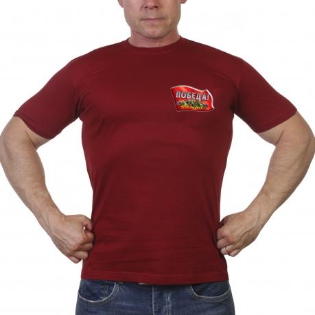 Краповая футболка Победа одна на всех