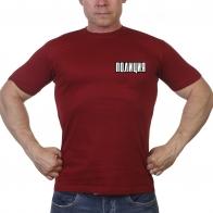 "Краповая футболка ""Полиция"""