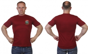 Краповая футболка разведчика