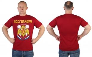 Краповая стильная футболка Росгвардия