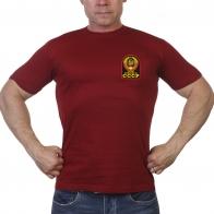 Краповая мужская футболка Рожден в СССР