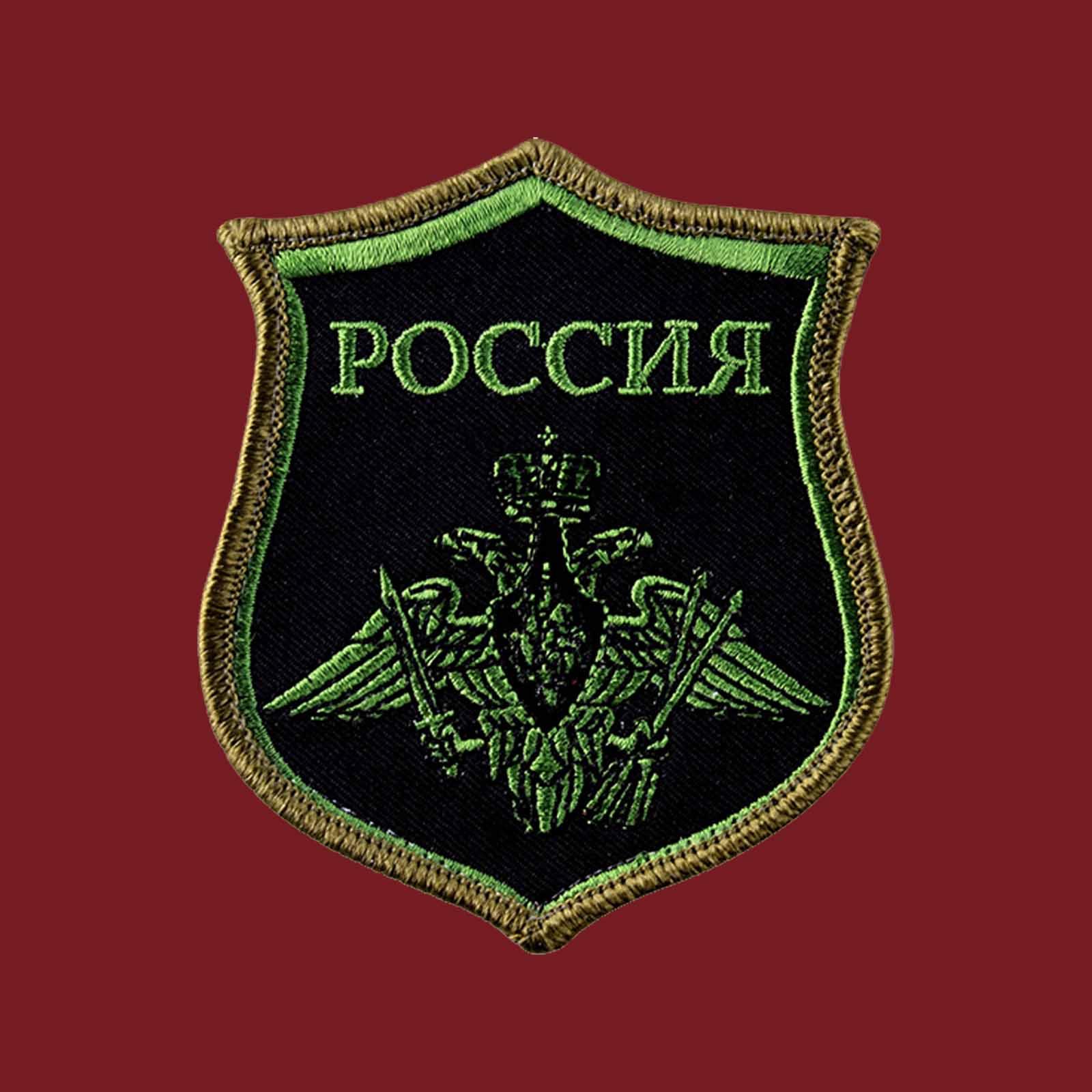 Краповая футболка РВСН РФ