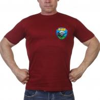 Краповая футболка с эмблемой ВДВ