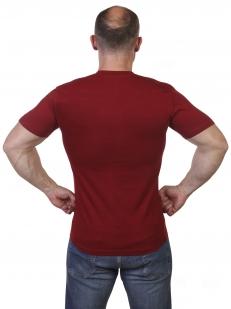 Краповая футболка с гербом России