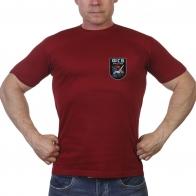 Краповая футболка с термотрансфером ФСБ России