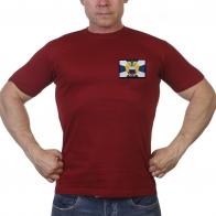Краповая футболка сотрудника ФСО