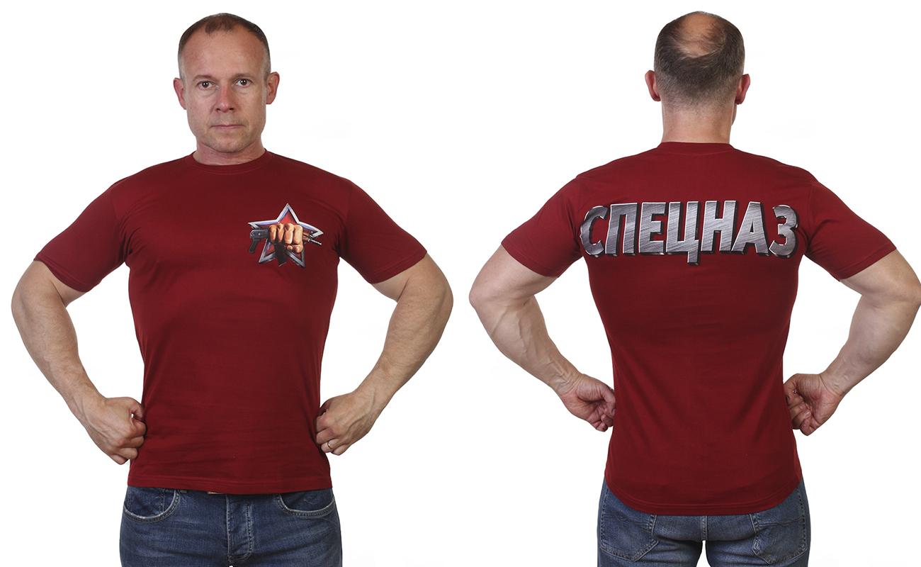 Краповая футболка Спецназ с доставкой