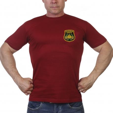 Краповая футболка Танковые войска