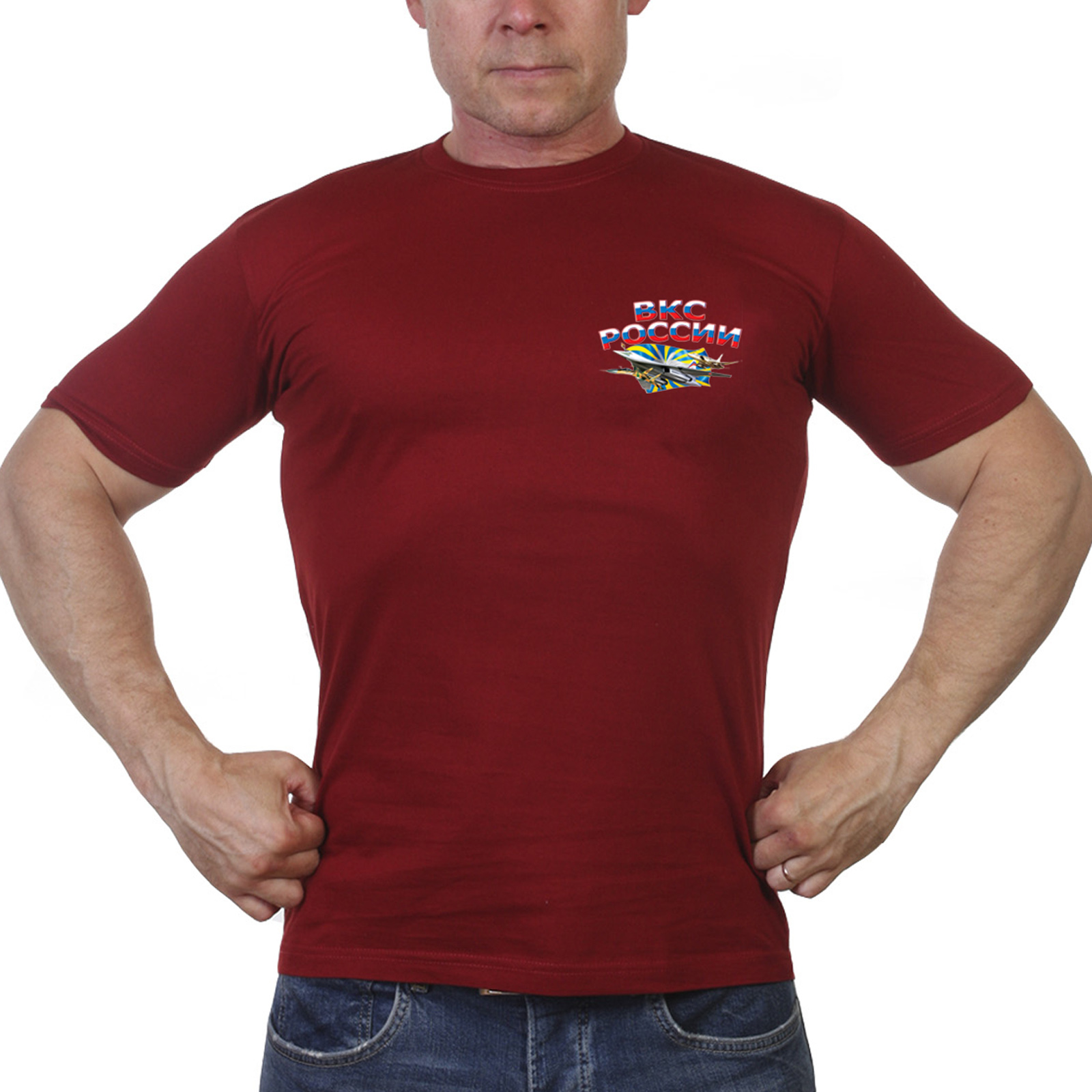 Краповая футболка ВКС России
